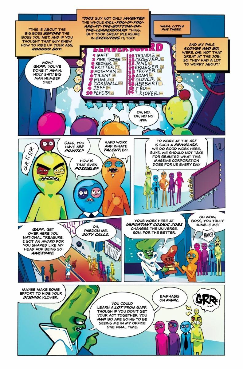 Trover_0026_c6815a0147f8285e3b5042ebb3626151 TROVER SAVES THE UNIVERSE becomes a comic book miniseries