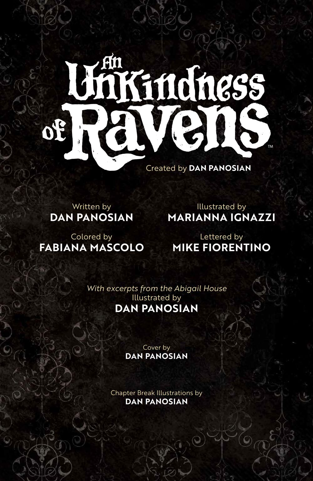 UnkindnessRavens_SC_PRESS_5 ComicList Previews: AN UNKINDNESS OF RAVENS TP