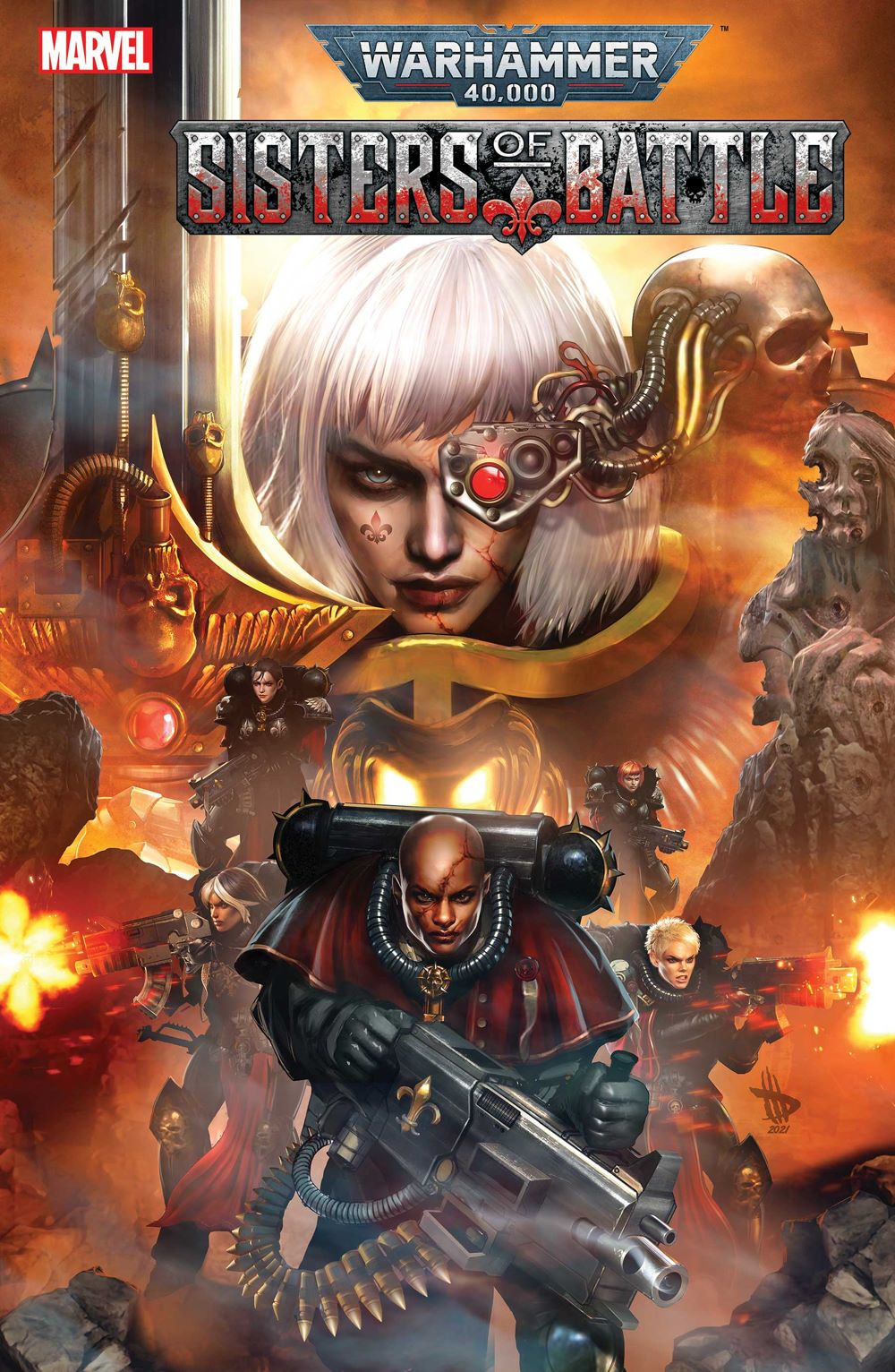 WARHAMMERSOB2021001_cover The future is grim in WARHAMMER 40,000: SISTERS OF BATTLE