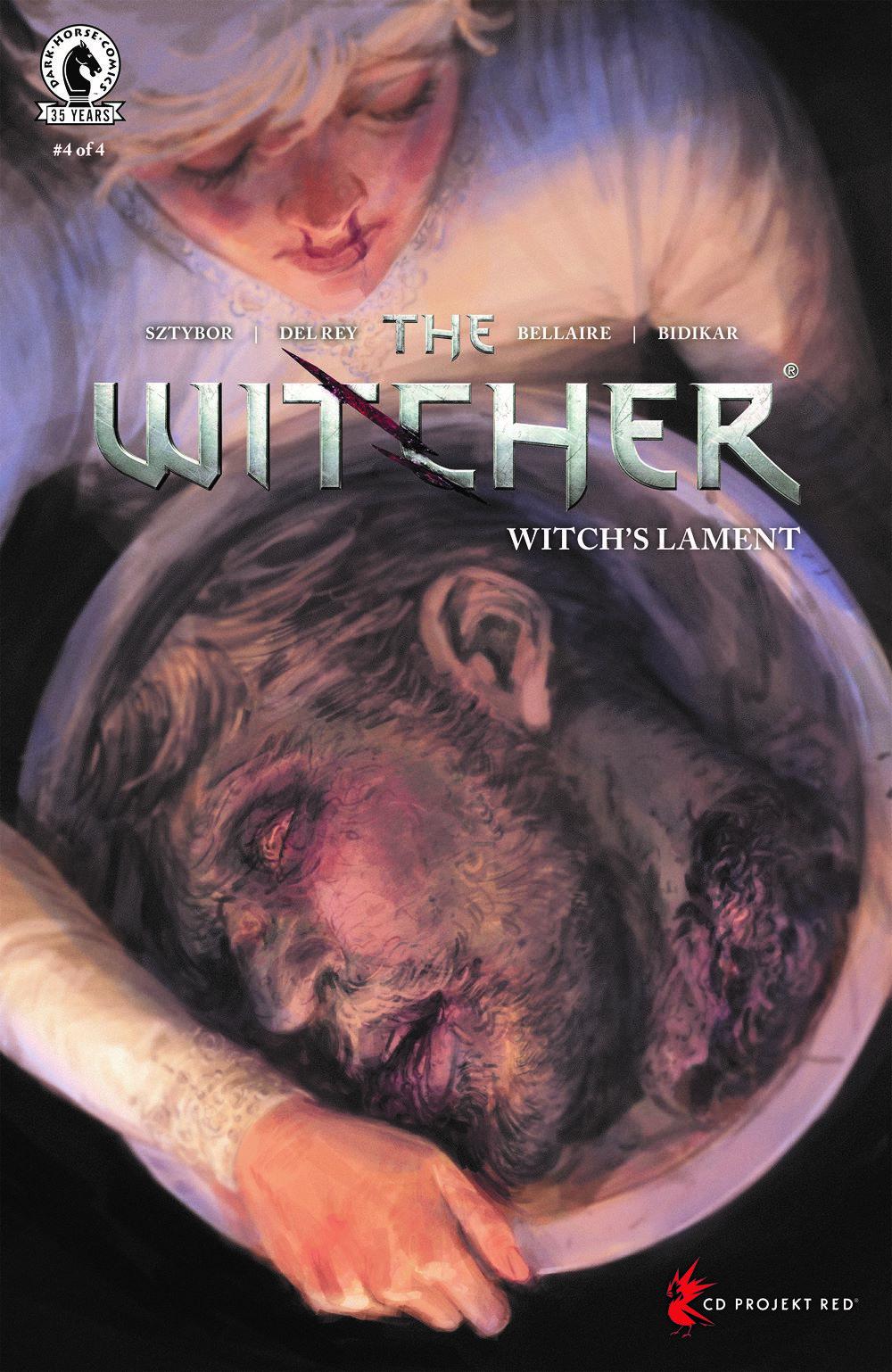 WITCHERWL_i4_CVR_4x6_A_SOL-1 Dark Horse Comics August 2021 Solicitations
