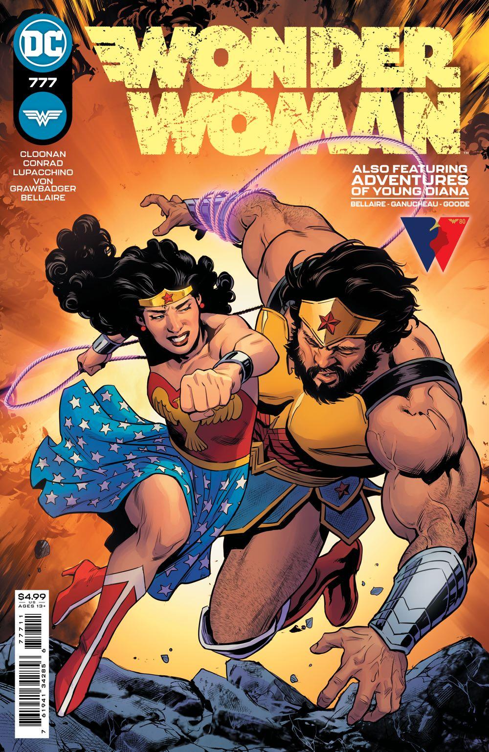 WONDERWOMAN_Cv777 DC Comics August 2021 Solicitations