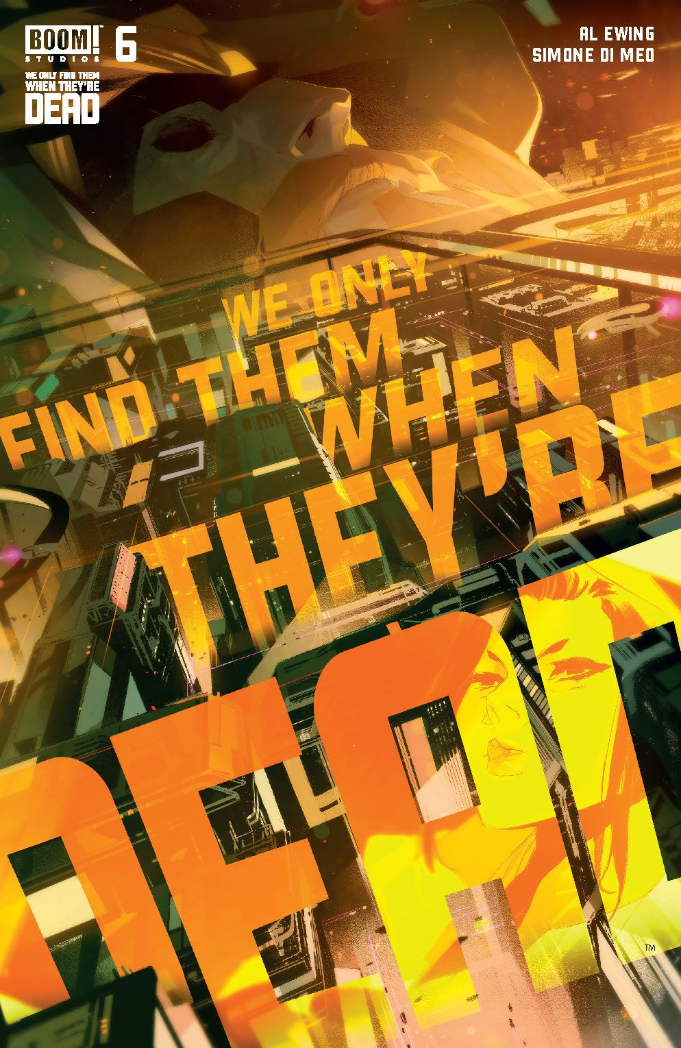WeOnlyFindThem_006_Cover_A_Main ComicList Previews: WE ONLY FIND THEM WHEN THEY'RE DEAD #6