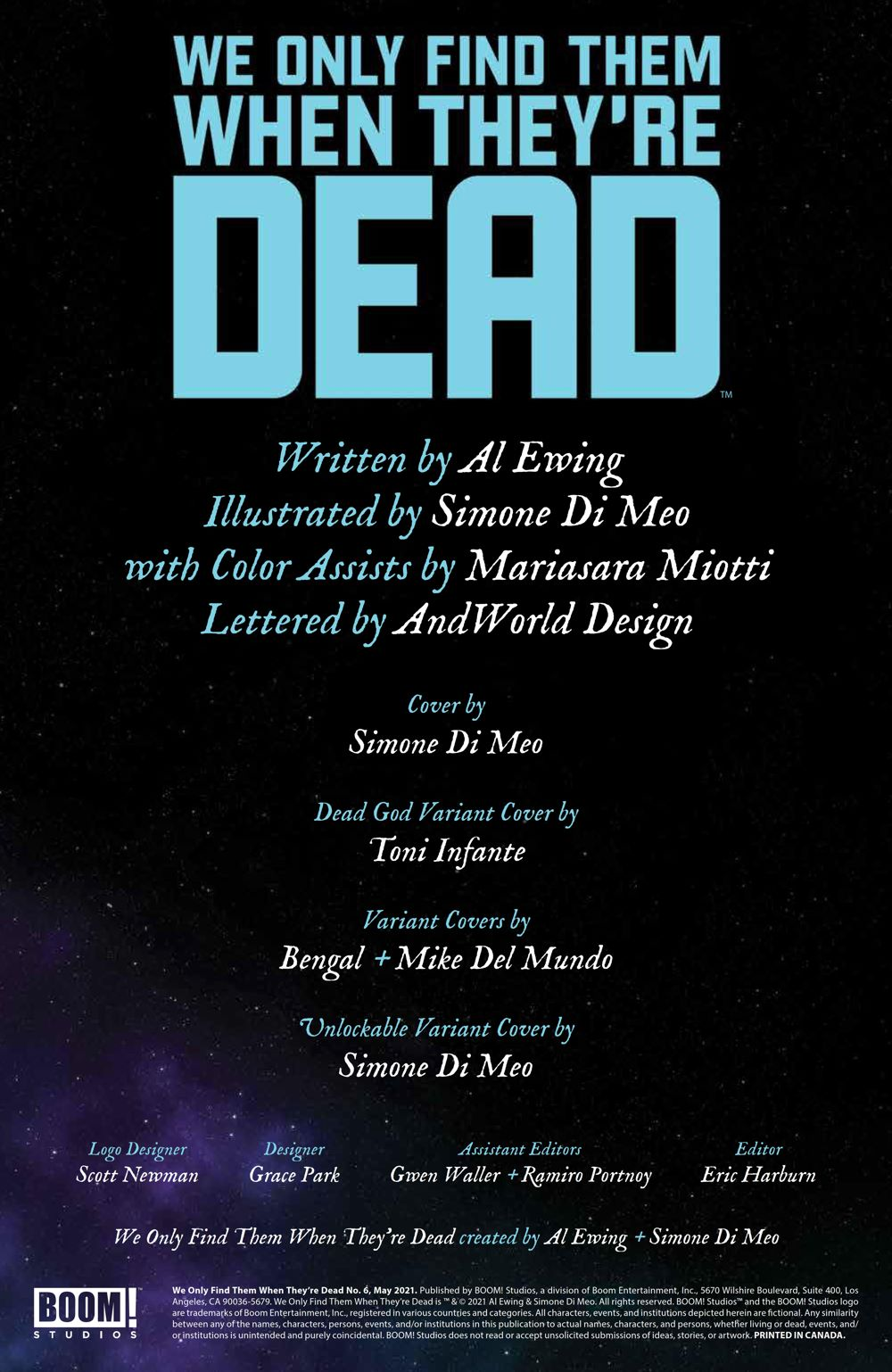 WeOnlyFindThem_006_PRESS_2 ComicList Previews: WE ONLY FIND THEM WHEN THEY'RE DEAD #6