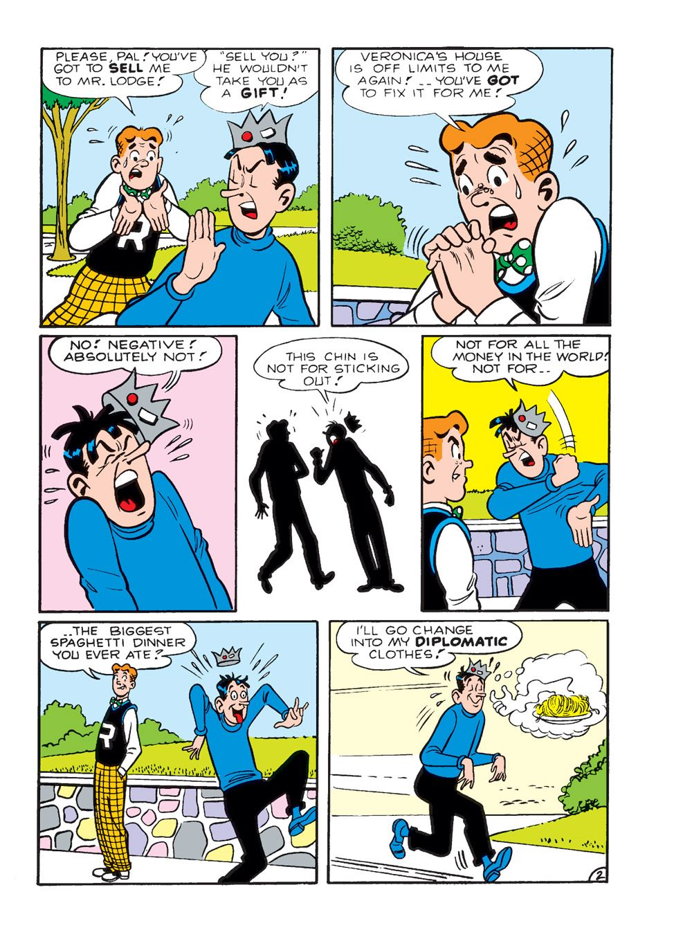 WorldOfArchieJumboComicsDigest_109-137 ComicList Previews: WORLD OF ARCHIE JUMBO COMICS DIGEST #109
