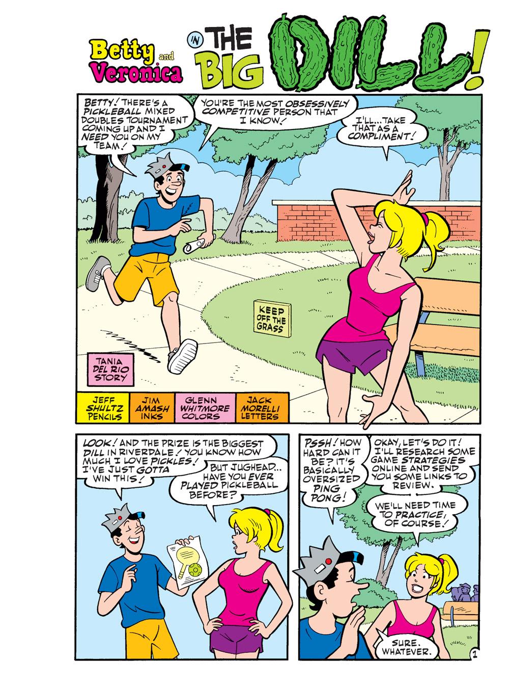 WorldOfBettyAndVeronicaJumboComicsDigest_005-2 ComicList Previews: WORLD OF BETTY AND VERONICA JUMBO COMICS DIGEST #5