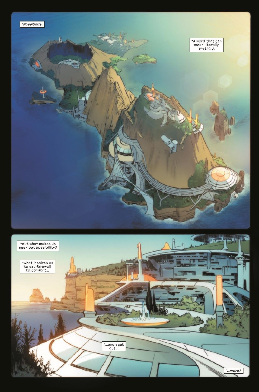 XCORP2021001_Preview-2 ComicList Previews: X-CORP #1