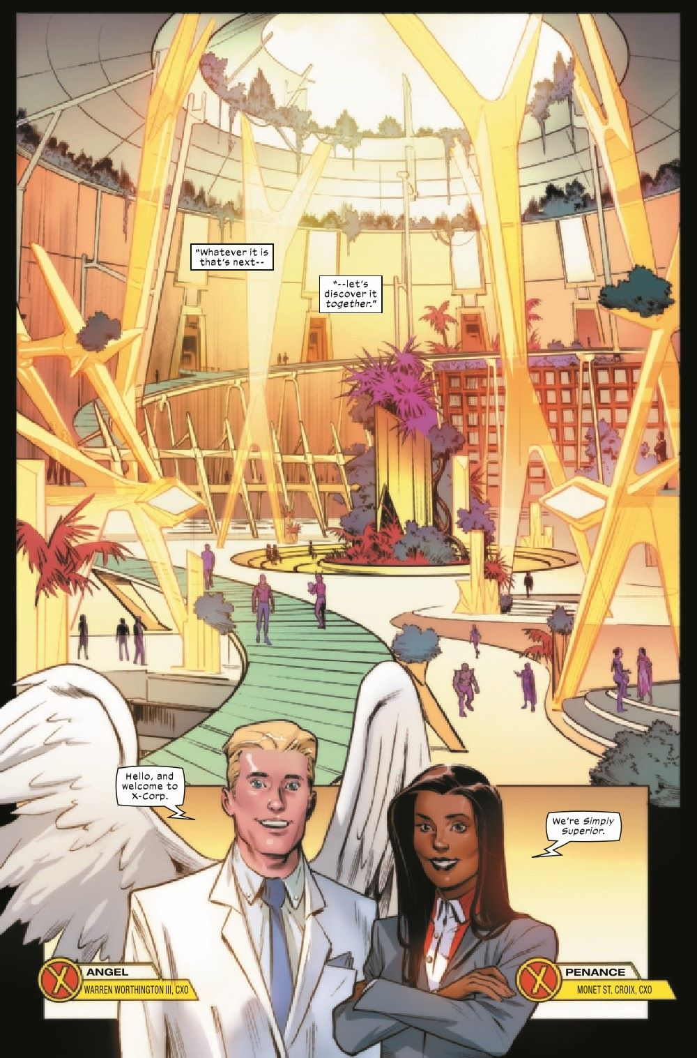 XCORP2021001_Preview-4 ComicList Previews: X-CORP #1