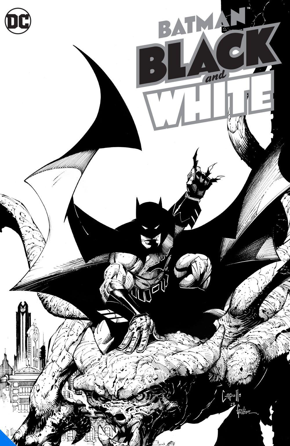 batmanblackandwhite_adv DC Comics August 2021 Solicitations
