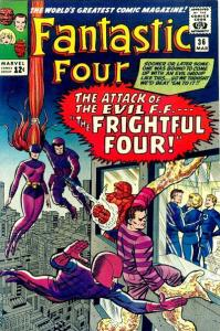 four-199x300 The Frightful Four & More Villain Team-ups!