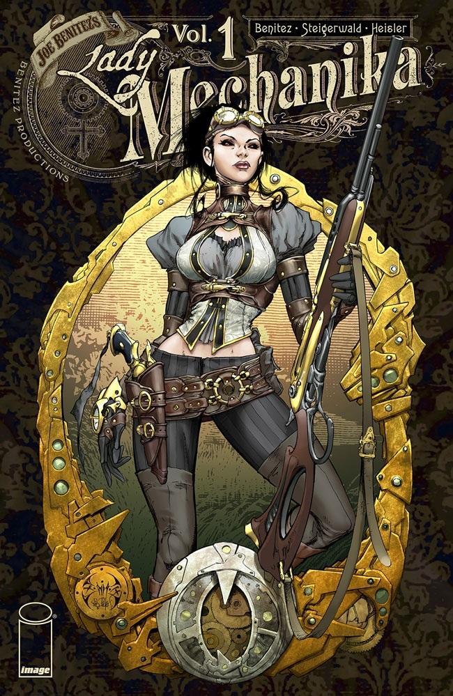 ladymechanika_hc1_cov Image Comics August 2021 Solicitations