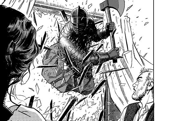 old12 eigoMANGA to publish OLDMAN graphic novel