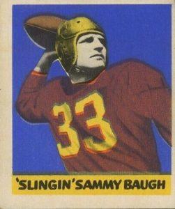 sammy-bough-e1621013539209-251x300 Sport Card Collecting 101: 1948 Leaf Football Kicks Off Football Card Collecting!