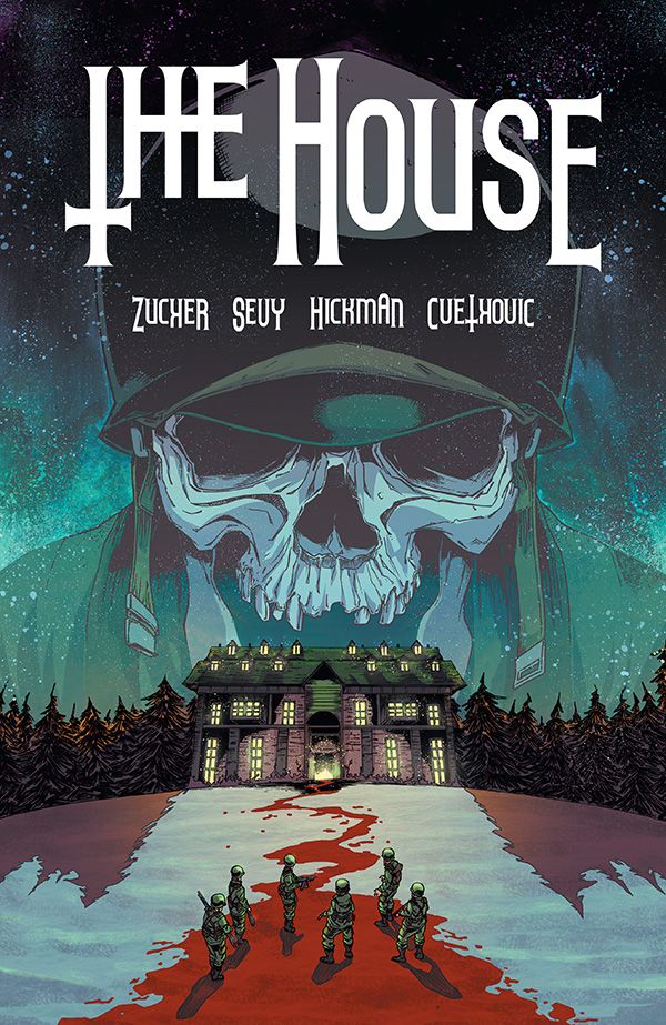 thehousecov Digital series THE HOUSE to be collected in trade paperback