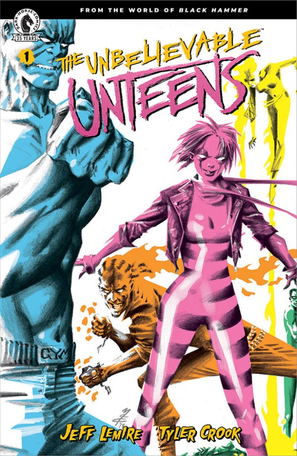 unteensvar From the world of Black Hammer comes THE UNBELIEVABLE UNTEENS