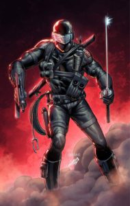 33124c34-0888-0e41-712f-ec108f0416ab-190x300 Rob Liefeld and Larry Hama unite for SNAKE EYES: DEADGAME cover