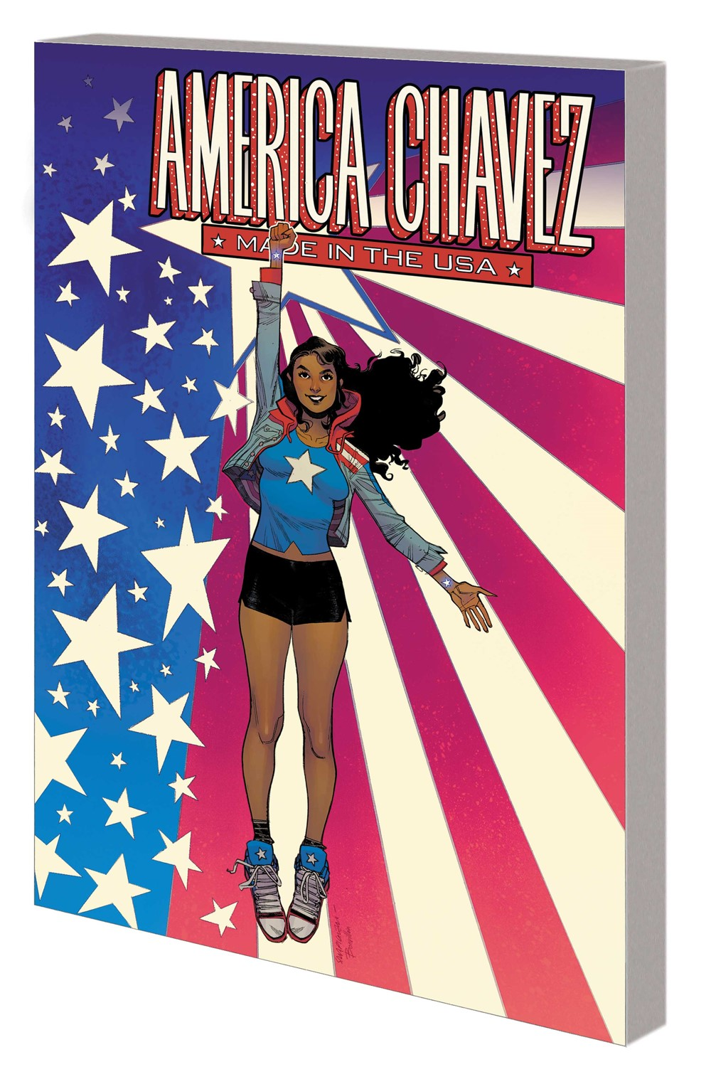 AMERICA_CHAVEZ_USA_TPB Marvel Comics September 2021 Solicitations