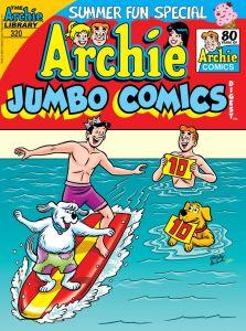 ArchieJumboComicsDigest_320_Cover_Galvan-223x300 ComicList Previews: ARCHIE JUMBO COMICS DIGEST #320