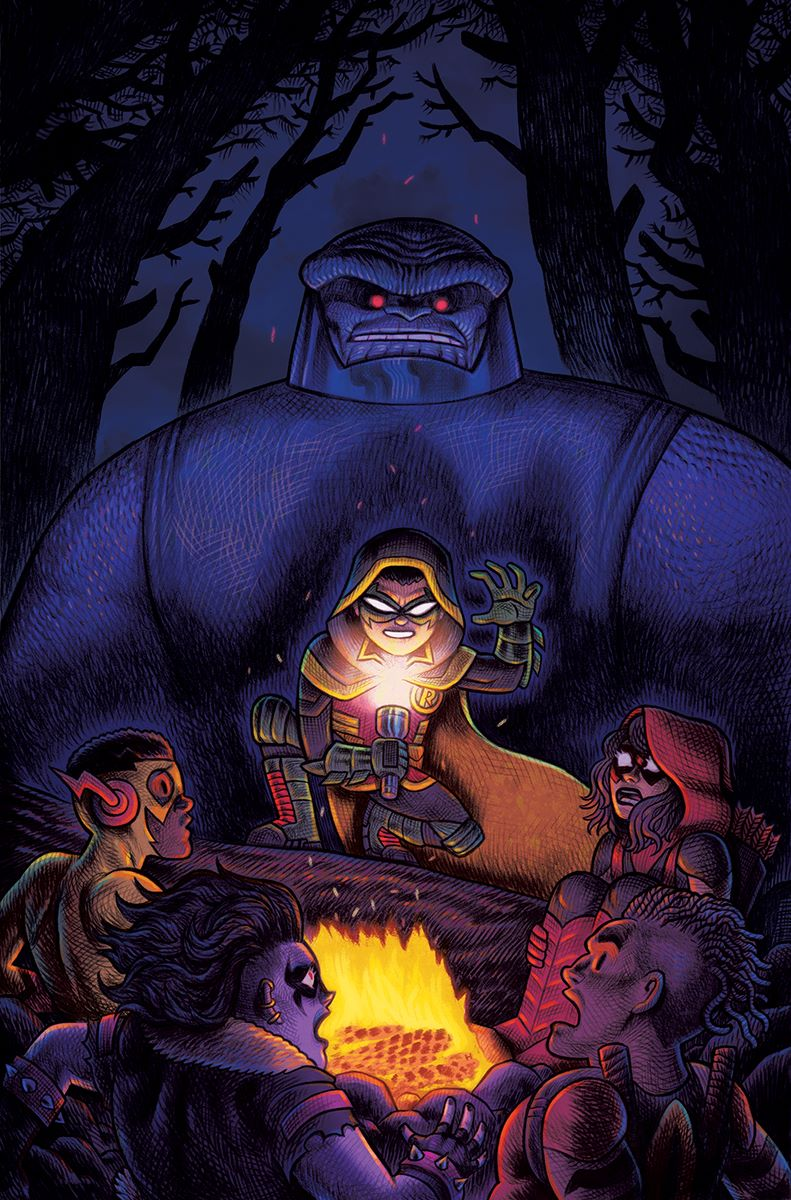 Are_You_Afraid_of_Darkseid_Cover DC Comics September 2021 Solicitations
