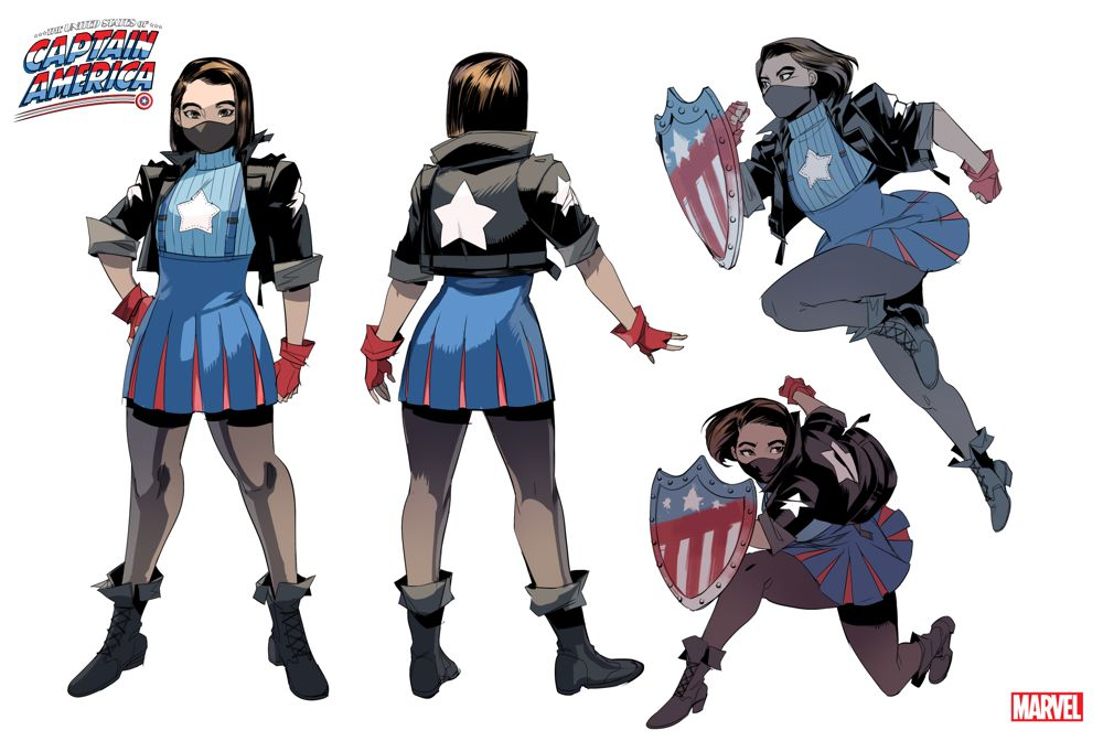 Ari-Agbayani_Design2 Meet another new Cap in UNITED STATES OF CAPTAIN AMERICA #4