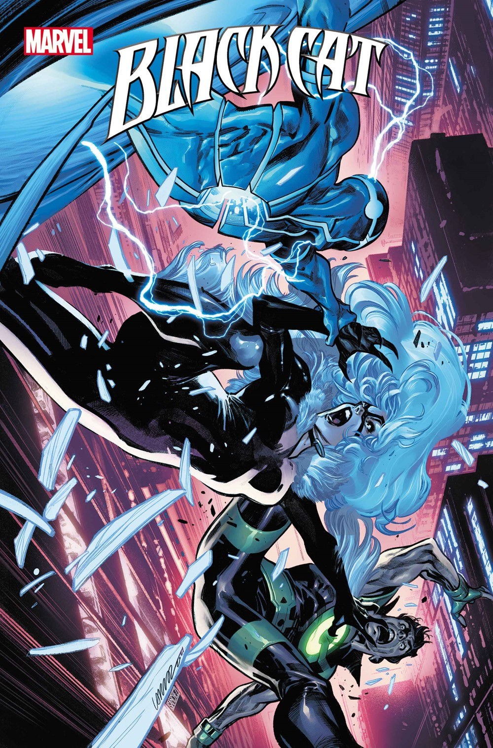 BLACKCAT2020010_cov Marvel Comics September 2021 Solicitations