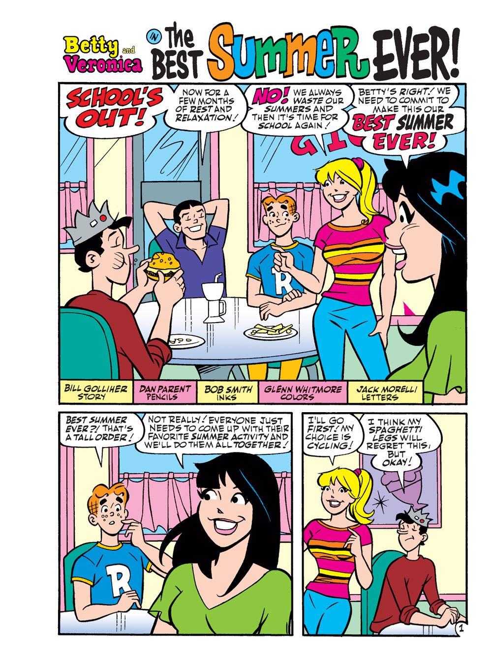 BettyAndVeronicaJumboComicsDigest_294-2 ComicList Previews: BETTY AND VERONICA JUMBO COMICS DIGEST #294