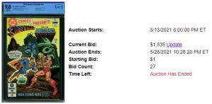CBCS-1-300x147 1 COMIC, 2 AUCTIONS: DC COMICS PRESENTS #47