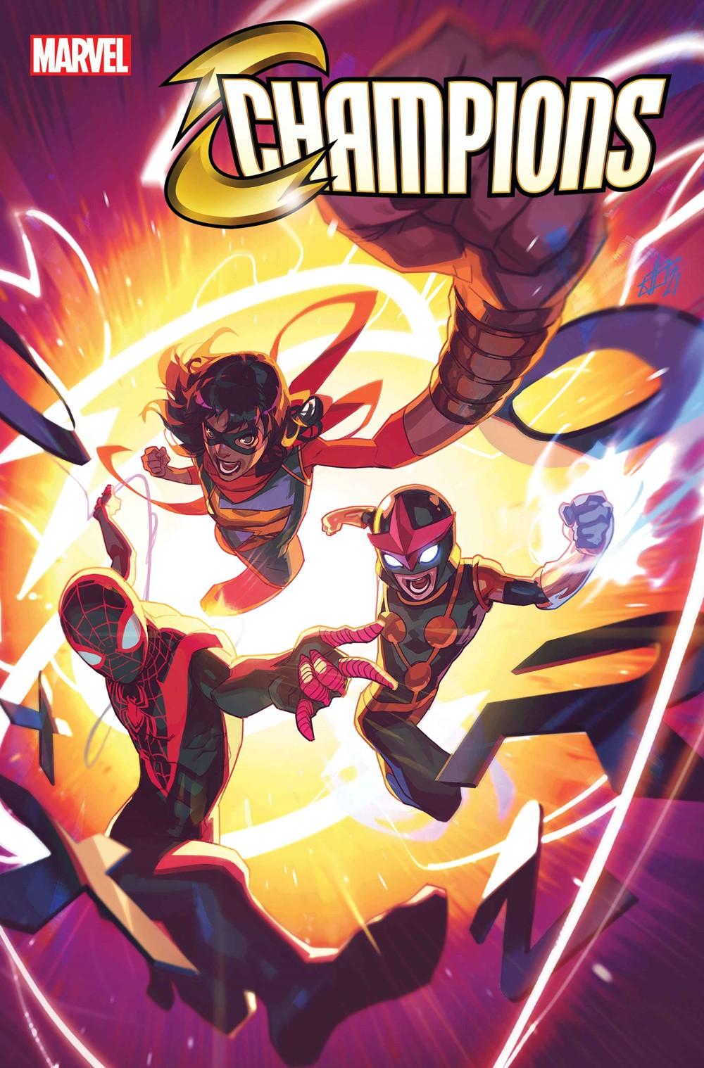 CHAMP2020009_Cov Marvel Comics September 2021 Solicitations