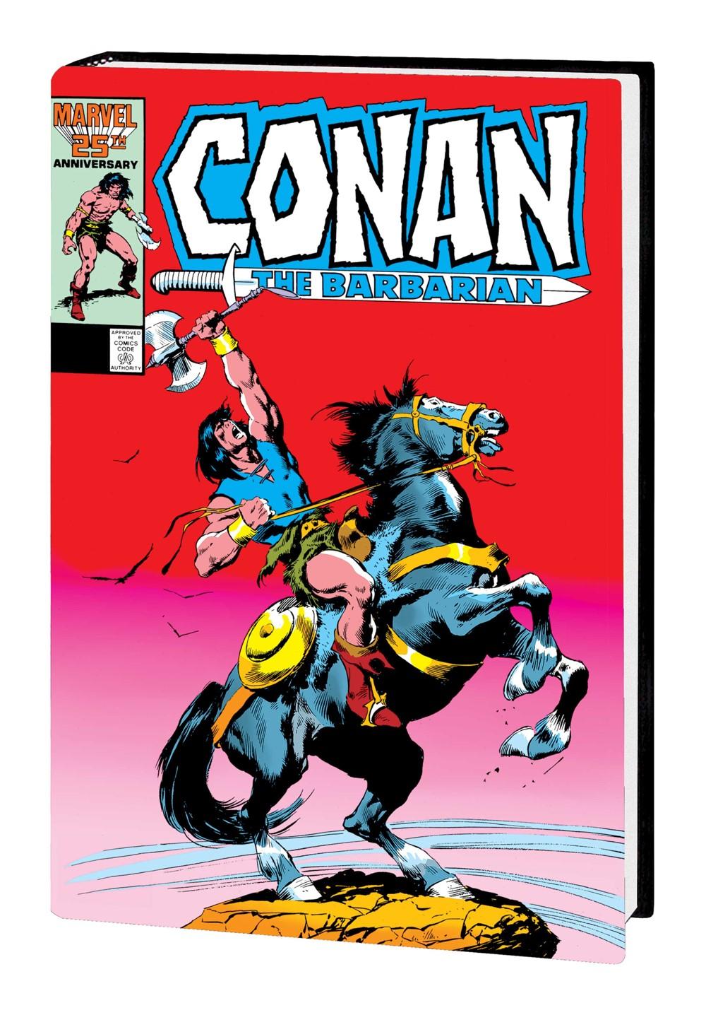 CONANBARBMAROMNIV07HC_BUSCEMA Marvel Comics September 2021 Solicitations