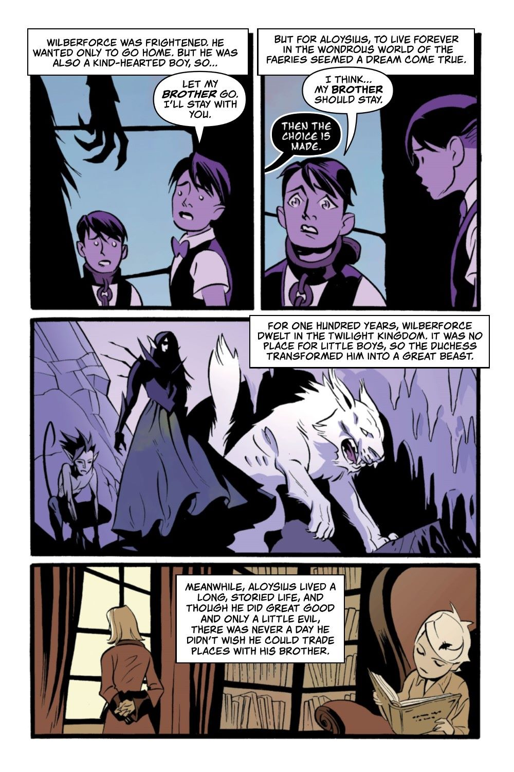 CRUMCHRON-V1-REFERENCE-009 ComicList Previews: THE CRUMRIN CHRONICLES VOLUME 1 THE CHARMED AND THE CURSED TP