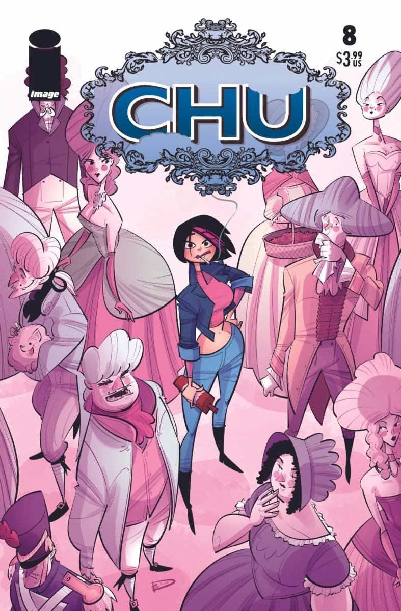 Chu_8a Image Comics September 2021 Solicitations