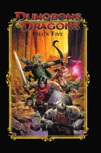 DD_FellsFiveHC-cover2-198x300 ComicList Previews: DUNGEONS AND DRAGONS FELL'S FIVE TP