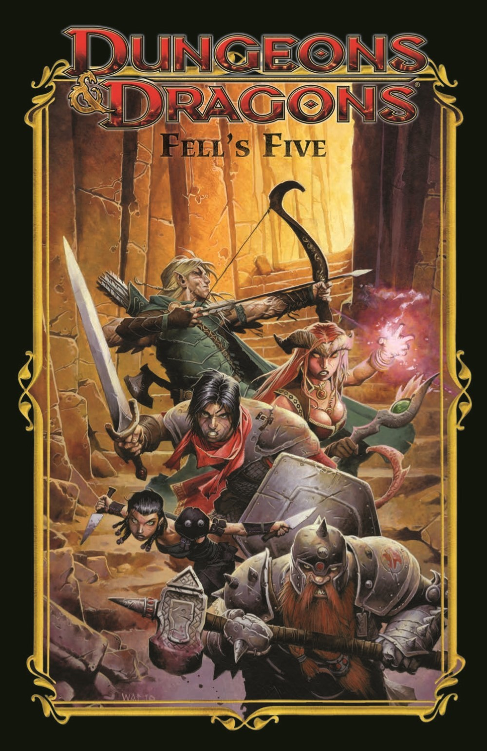 DD_FellsFive_TPB_pr-1 ComicList Previews: DUNGEONS AND DRAGONS FELL'S FIVE TP