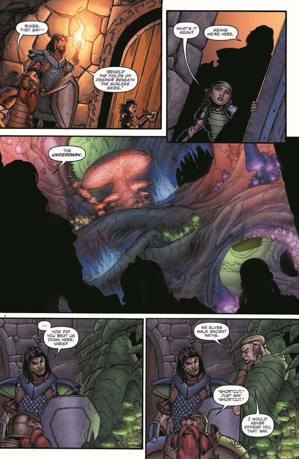 DD_FellsFive_TPB_pr-6 ComicList Previews: DUNGEONS AND DRAGONS FELL'S FIVE TP