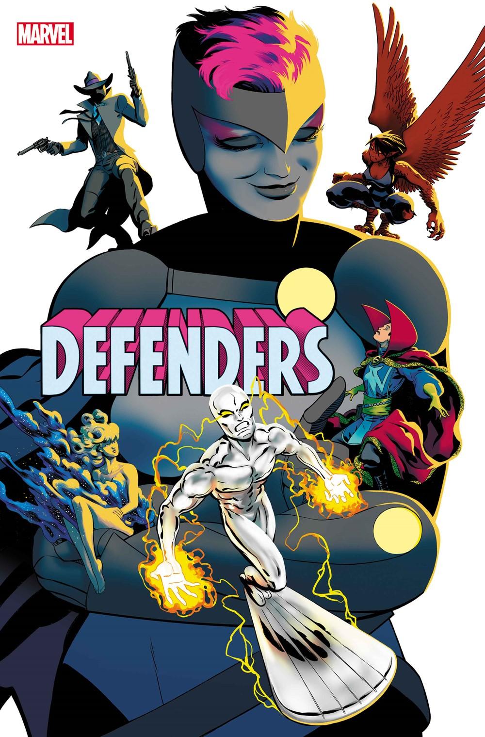 DEFENDERS2021002_cvr Marvel Comics September 2021 Solicitations