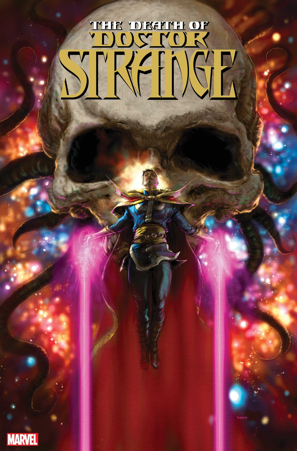 DRSDEATH2021001_cvr It's the end of the line in DEATH OF DOCTOR STRANGE