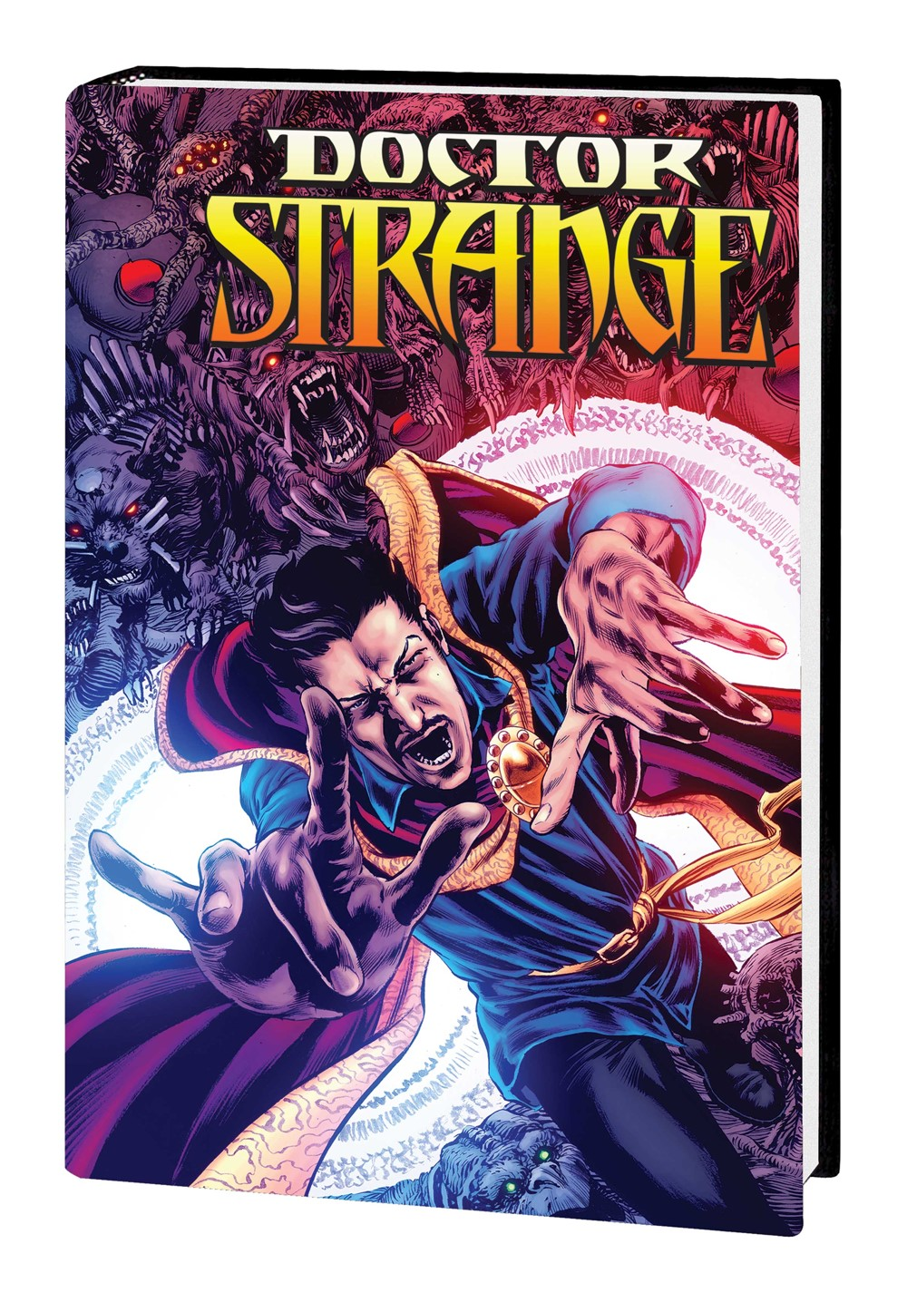 DRSTRANGE_OMNI_HC_PERKINS Marvel Comics September 2021 Solicitations