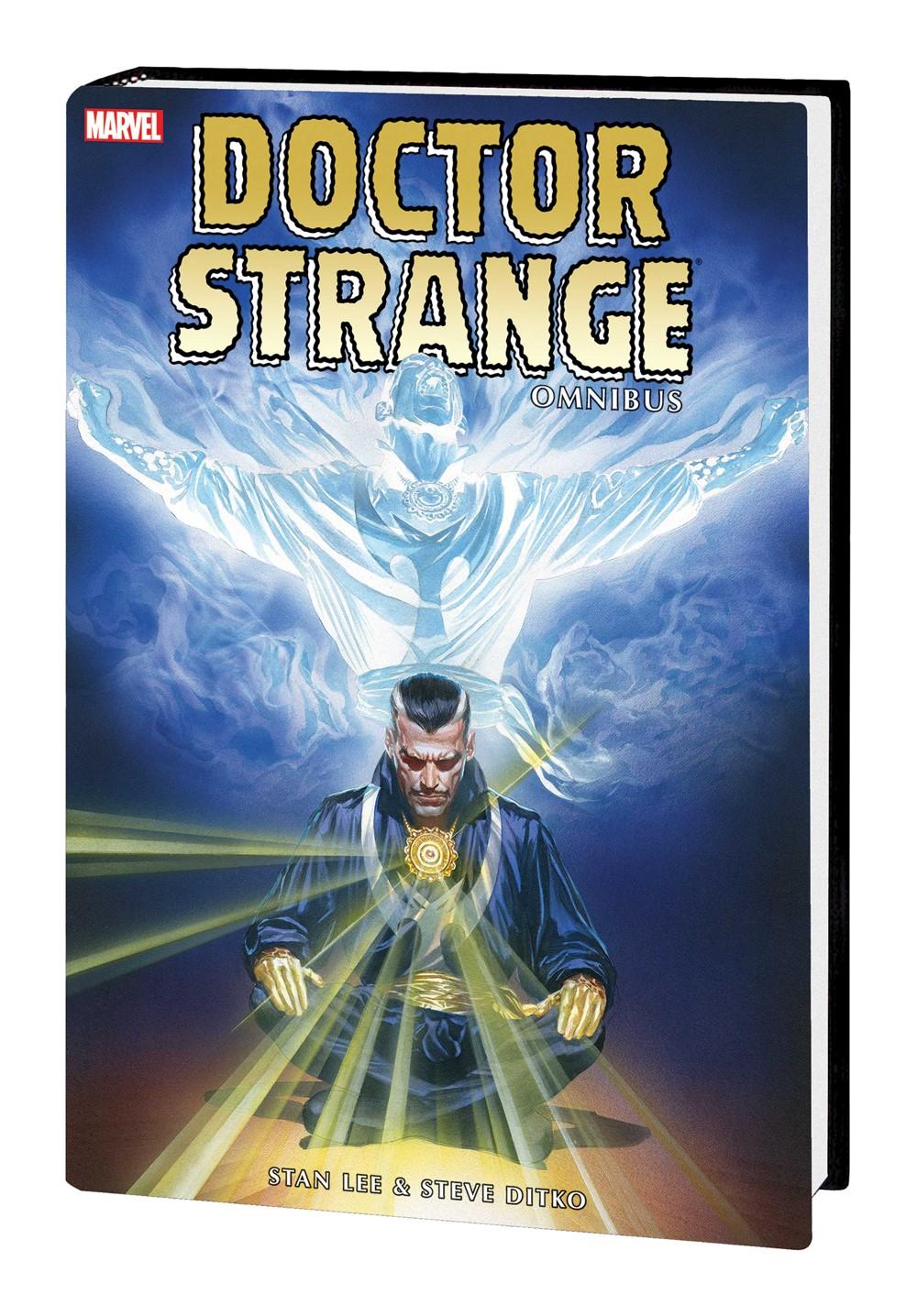 DRSTRANGE_OMNI_V1_HC_ROSS Marvel Comics September 2021 Solicitations