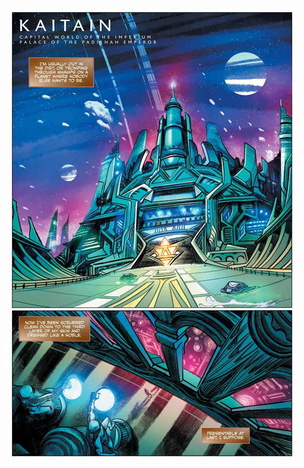 Dune_HouseAtreides_v1_HC_PRESS_13 ComicList Previews: DUNE HOUSE ATREIDES VOLUME 1 HC