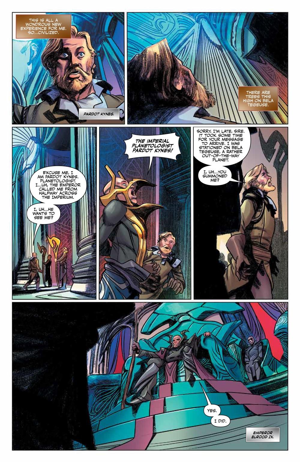 Dune_HouseAtreides_v1_HC_PRESS_14 ComicList Previews: DUNE HOUSE ATREIDES VOLUME 1 HC