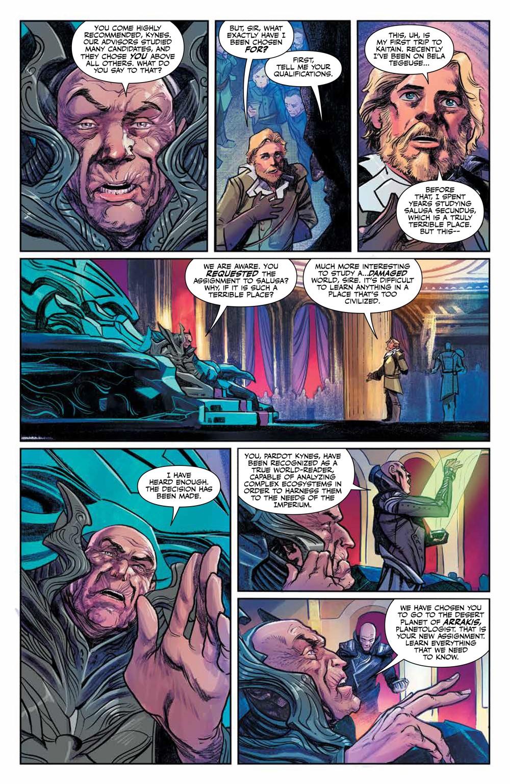 Dune_HouseAtreides_v1_HC_PRESS_15 ComicList Previews: DUNE HOUSE ATREIDES VOLUME 1 HC