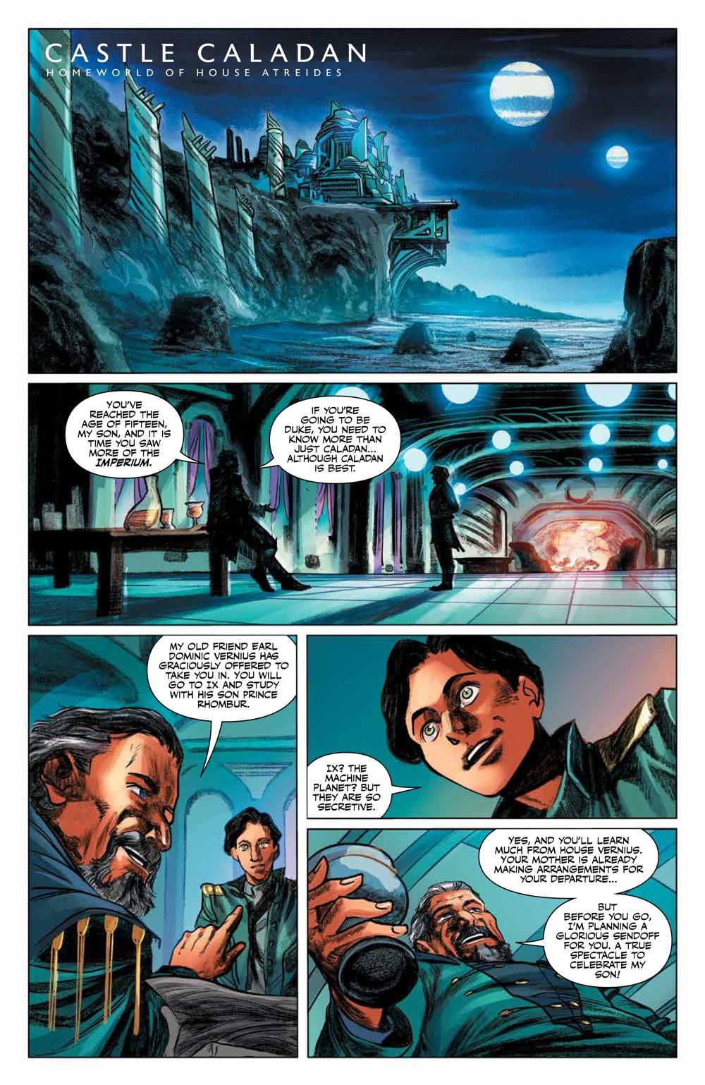 Dune_HouseAtreides_v1_HC_PRESS_20 ComicList Previews: DUNE HOUSE ATREIDES VOLUME 1 HC