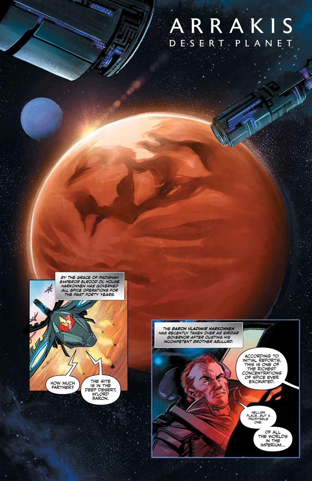 Dune_HouseAtreides_v1_HC_PRESS_7 ComicList Previews: DUNE HOUSE ATREIDES VOLUME 1 HC