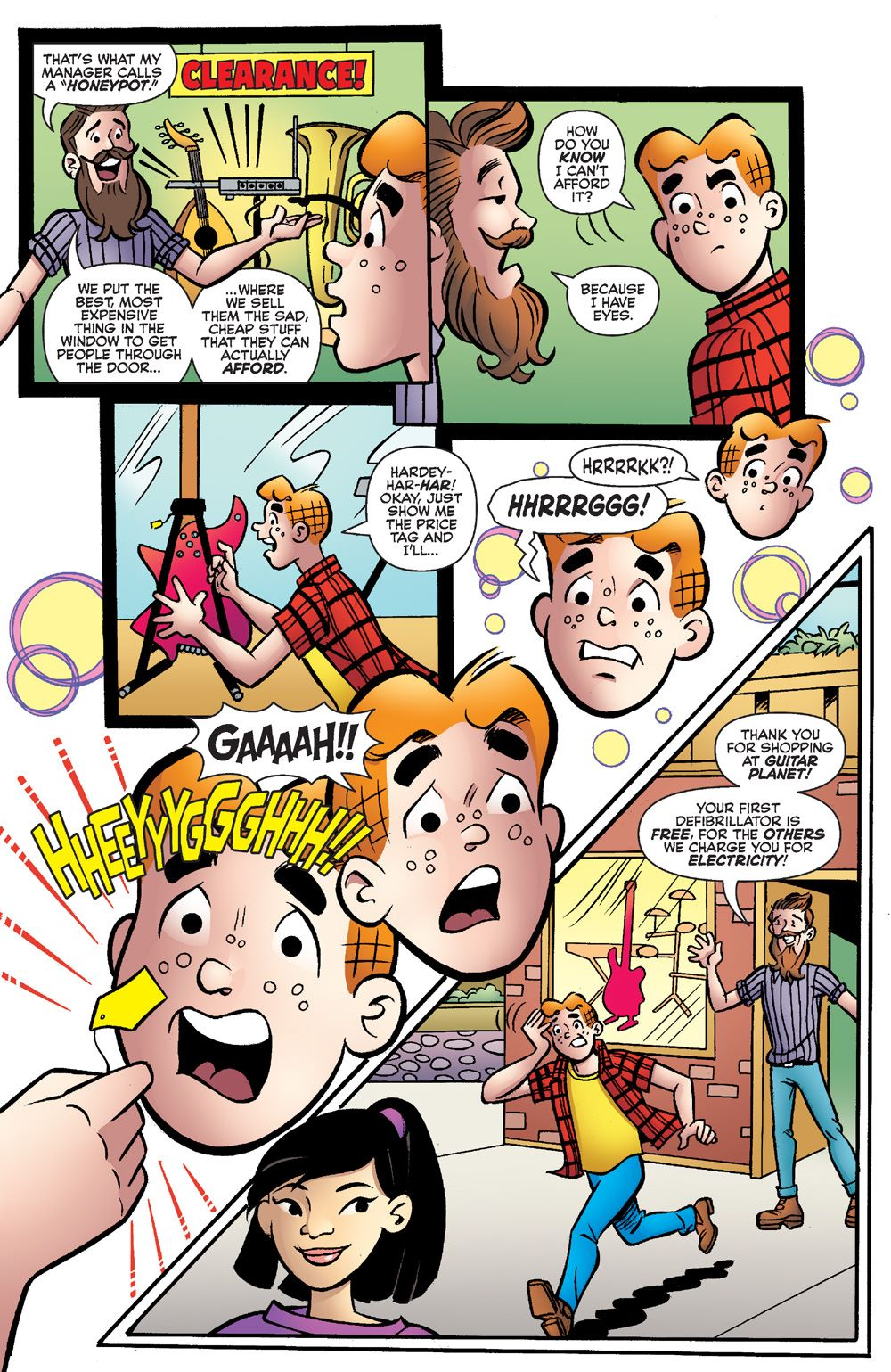 EverythingsArchie_01-4 ComicList Previews: ARCHIE 80TH ANNIVERSARY EVERYTHING'S ARCHIE #1