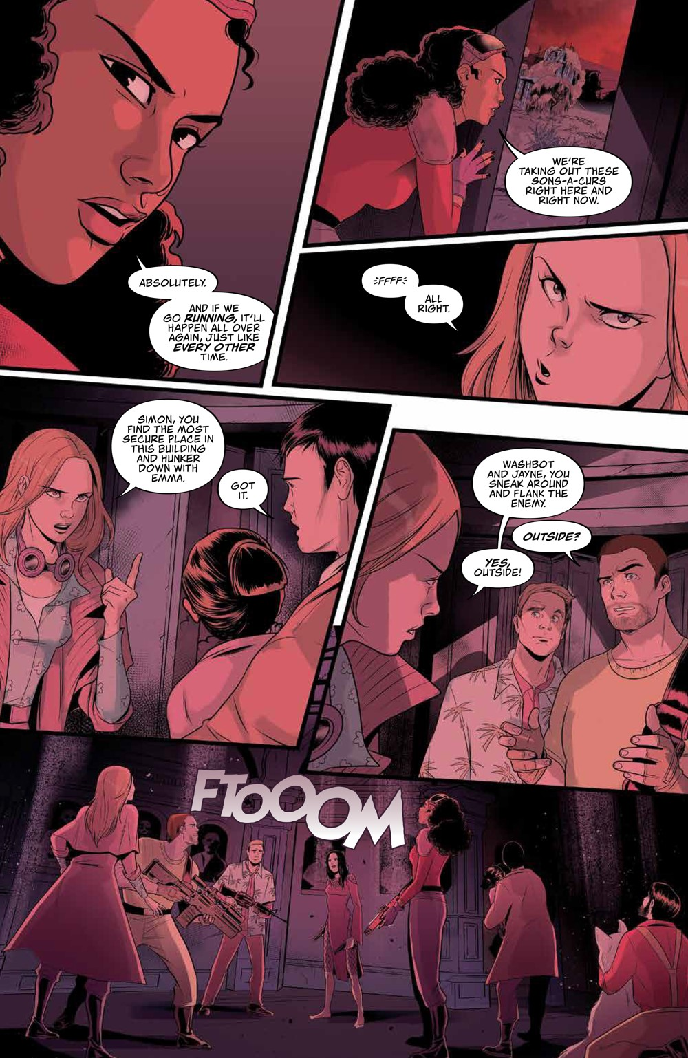 Firefly_030_PRESS_6 ComicList Previews: FIREFLY #30