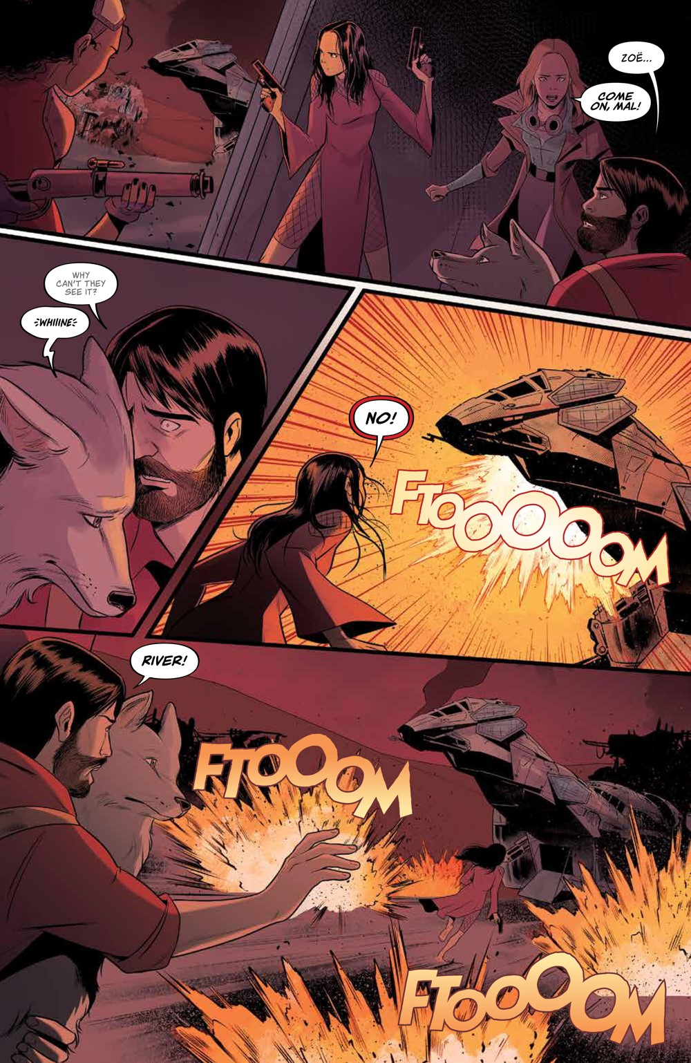 Firefly_030_PRESS_8 ComicList Previews: FIREFLY #30