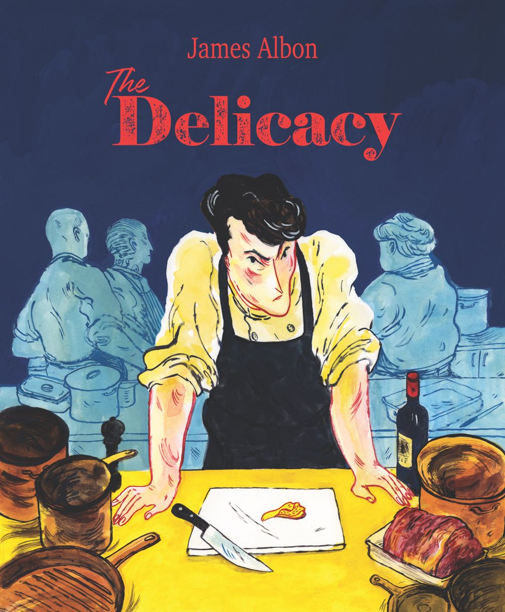 Front-cover ComicList Previews: THE DELICACY GN