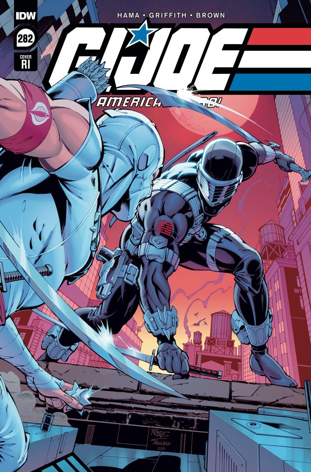 GIJoeRAH282-coverRI ComicList Previews: G.I. JOE A REAL AMERICAN HERO #282