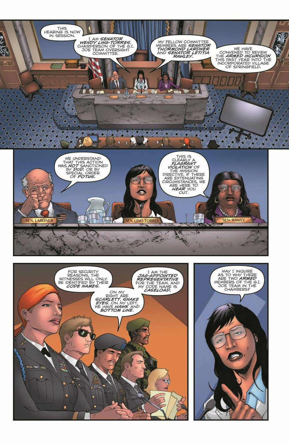 GIJoeRAH282-pr-4 ComicList Previews: G.I. JOE A REAL AMERICAN HERO #282