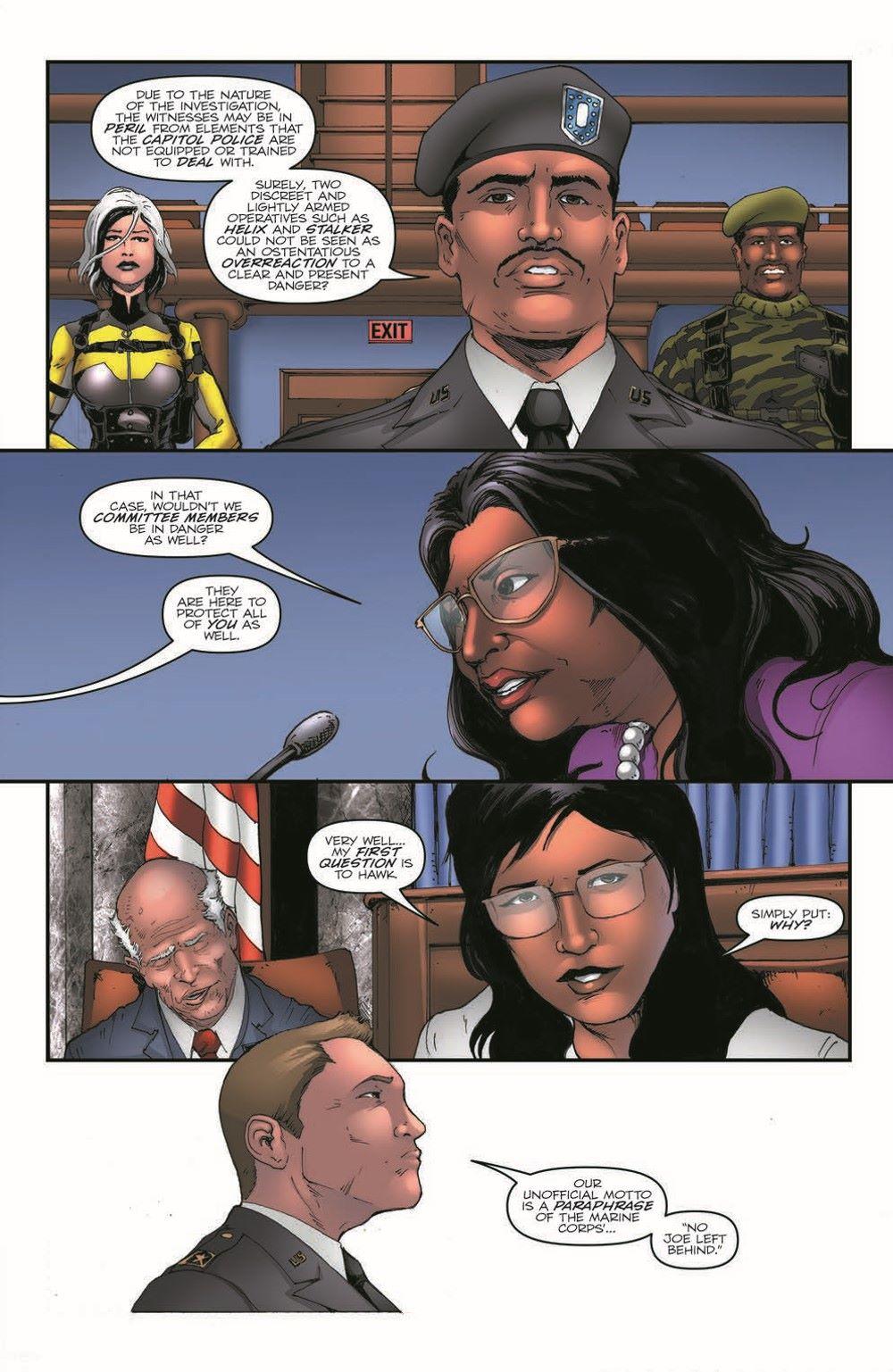 GIJoeRAH282-pr-5 ComicList Previews: G.I. JOE A REAL AMERICAN HERO #282
