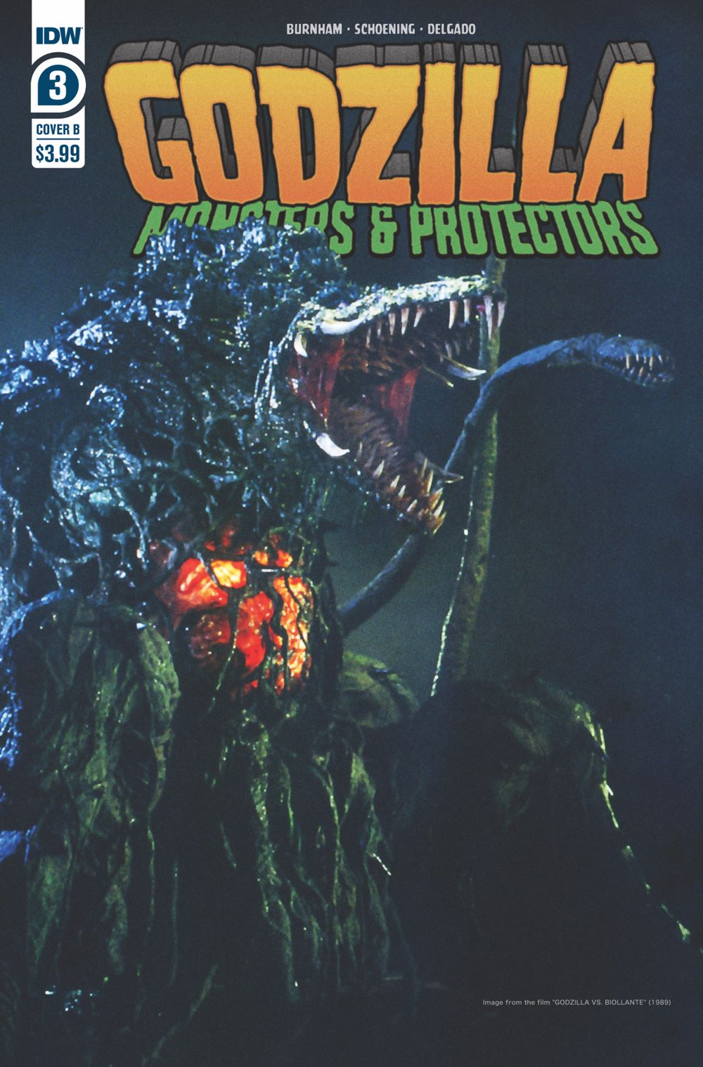 Godzilla_MP03-coverB ComicList: IDW Publishing New Releases for 06/16/2021